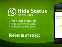 Hide WhatsApp Status
