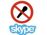 не работает микрофон в skype