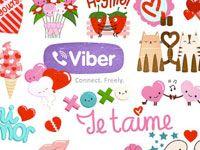 стикеры для Viber