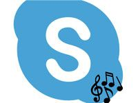 трансляция музыки в Скайпе
