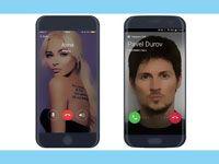 видеозвонок в телеграмме